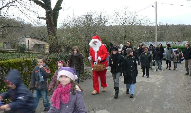 le père Noël à Séveyrac